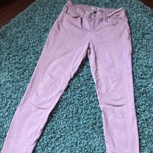Pink Comfortable Skinny Jeans